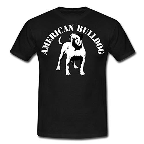 American Bulldog 02 Männer T-Shirt, XL, Schwarz
