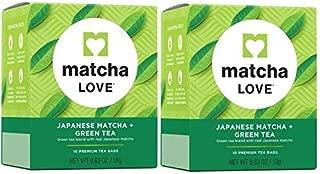 Matcha Love Japanese Green Tea 10 Ct (Pack of 2)