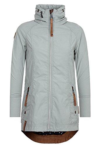 Naketano Damen Jacke Gezielt Poppen Jacket, aristocrat grey, S