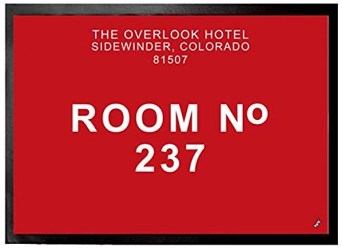 1art1 El Resplandor - Overlook, Habitación 237 Felpudo Alfombra (70 x 50cm)