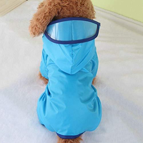 djryj Aantrekkelijke Huisdier Hond Regenjas Kleding Puppy Waterdichte Jas Hooded Regenjas Outdoor voor Home Decoratie