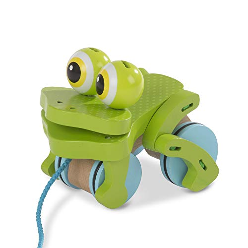 Product Image of the Melissa & Doug Frolicking Frog Pull Toy