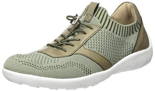 Remonte Damen R3511 Slip On Sneaker, Grün (Olive/Olive 54), 44 EU