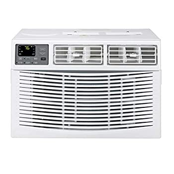 10000 BTU Window Air Conditioner Energy Saving AC Unit with Remote Control & Timer Function Ideal for Rooms up to 450 Square Feet 110V/60Hz White