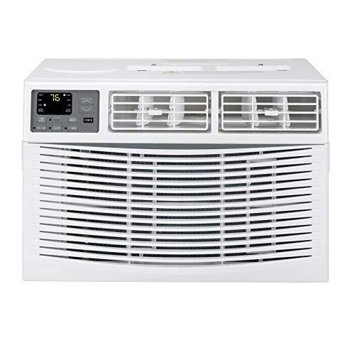 8000 BTU Window Air Conditioner, Energy Saving AC Unit with Remote Control & Timer Function, Ideal for Rooms up to 350 Square Feet, 110V/60Hz, White