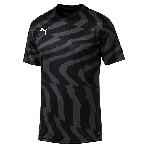 Puma Herren Cup Jersey Core Trikot, Black White, L