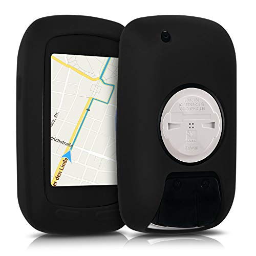 kwmobile Hülle kompatibel mit Garmin Edge 800/810 / Touring Plus - Silikon GPS Fahrrad Hülle Schutzhülle - in Schwarz