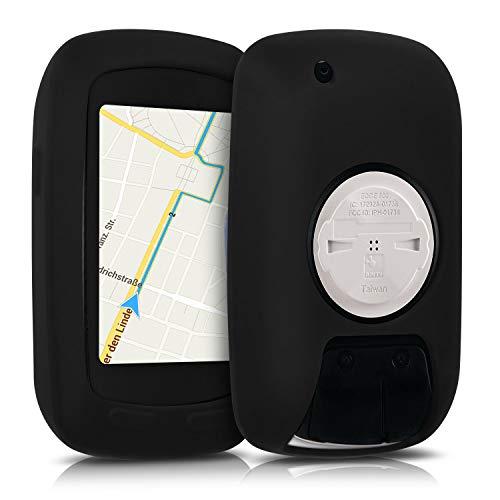 kwmobile Carcasa GPS Compatible con Garmin Edge 800/810 / Touring Plus - Funda de Silicona para navegdor de Bici - Negro