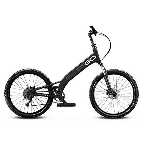 ElliptiGO MSUB All Terrain Outdoor Stand Up Bike and Best Hybrid Indoor Exercise Trainer, Black
