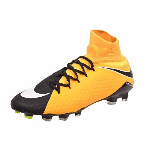 Nike Hypervenom Phatal Iii Df Fg, Scarpe da Calcio Uomo, Arancione (Laser Orange/White/Black/Volt/White), 44.5 EU