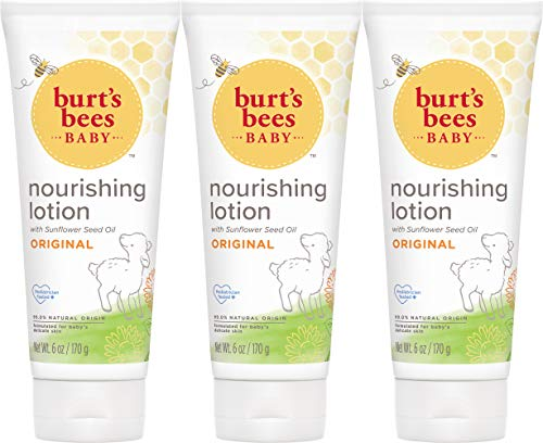 Product Image of the Burt's Bees Baby Nourishing Lotion, Original Scent Baby Lotion - 6 Ounce Tube -...