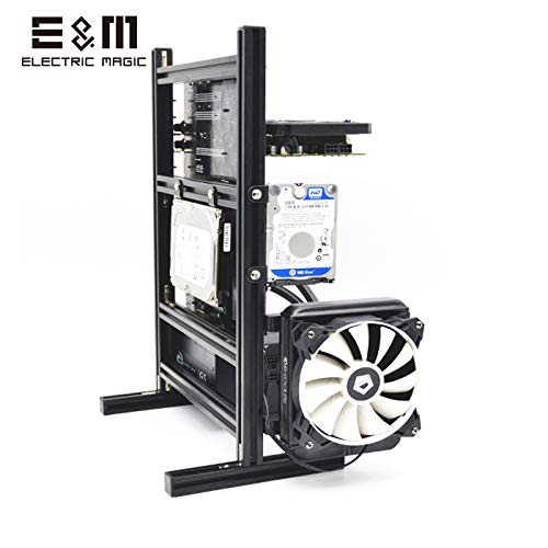 MATX PC Test Bench Computer Water Cooling Open Frame Overclock Air Case Mini Aluminum HTPC Support Graphics Card