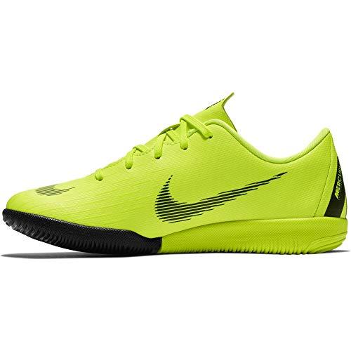 Nike Unisex-Kinder Jr. MercurialX Vapor XII Academy IC Multisport Indoor Schuhe, Schwarz (Volt/Black 701), 30 EU