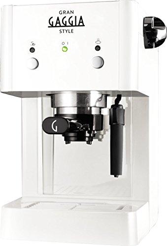 Gaggia GranGaggia Style White Macchina Manuale per il Caffè Espresso, per...