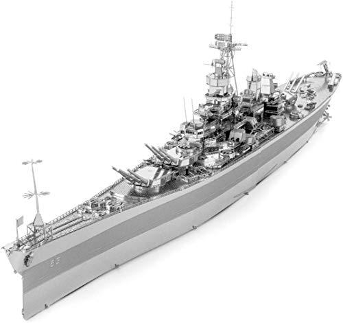 Piececool USS Missouri - Puzzle 3D de metal para adultos