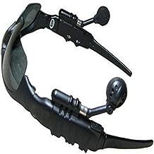 Sunglasses Mp3 Player with Bluetooth Phone Talk- Sunglass Sports Headphones Sun Glasses 4GB Headset