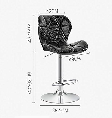 LightSeiEU/Chaise élévatrice à barres/fauteuil pivotant arrière à dossier minimaliste moderne, éponge haute densité, cuir portable (Couleur : E) G