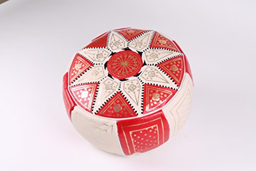Pouf, puff, cuero, asiento, leather, footstall, handmade