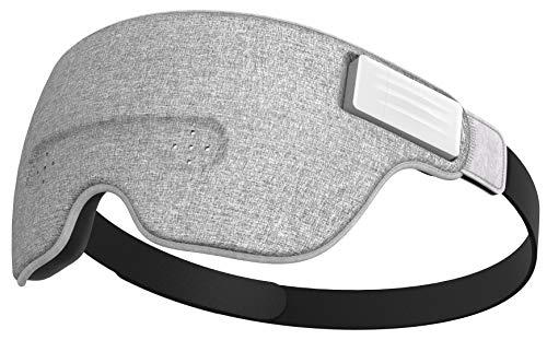 Luuna Brainwave Brain Sensing Bluetooth Smart Sleep Mask Built-in Music/Sounds, Wireless Connection...