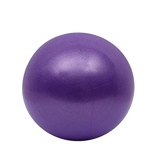 HDDFG Juego de Equipos de Yoga de 5 uds, Pelota de Yoga, Bloque de Yoga, Banda elástica, Banda de Resistencia, Kit de Inicio, Ayuda para Estiramiento, Gimnasio, Pilates, Fitness (Color : Purple)