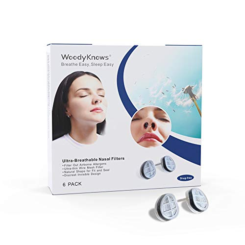 WoodyKnows - Filtro nasale ultra traspiranti