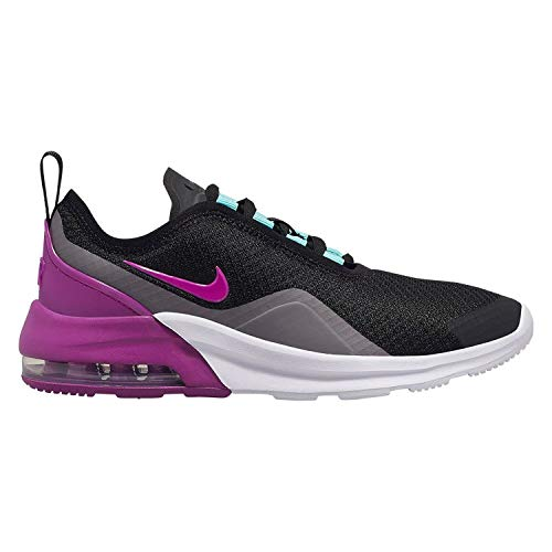 Nike Air Max Motion 2, Scarpe da Campo e da Pista Uomo, Multicolore Nero/Viola/Grigio/Verde (Black Hyper Violet Gunsmoke Aurora Green 013), 36.5 EU