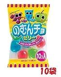 東豊製菓 のむんちょゼリー 10個入り×10袋(大量100個)