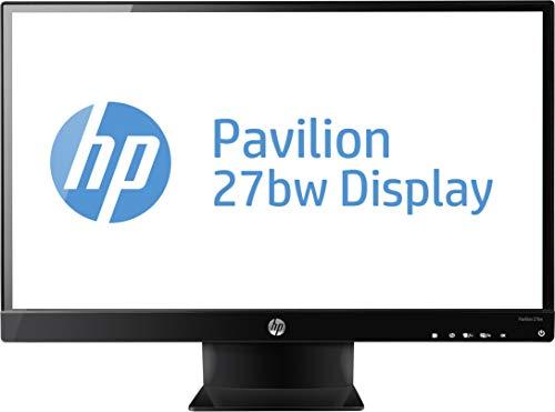 """HP 27wm Monitor con Altoparlanti Integrati, Schermo IPS Full HD, 27"""", Risoluzione 1920x1080, Micro-Edge, Angoli di Visualizzazione 178°, Classificazione EPEAT Silver, Antiriflesso, Nero"""