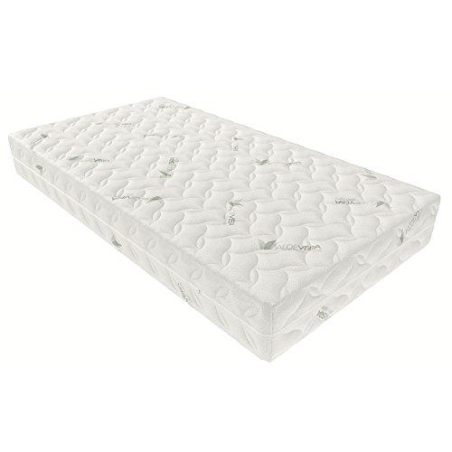 Inter handel Aloevera matras Aloevera-Visco, 100% polyester, 90x200 cm