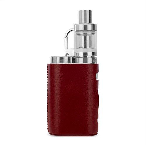 WISTERIAS Leather case for Eleaf iStick Pico (Grus: Red) 本革使用のハンドメイド高級レザーケース