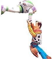 トイストーリー Toy Story ウッディー& バズ Woody&Buzz フィギュア 人形 ステッカー 車 カー アクセサリー ぬいぐるみ