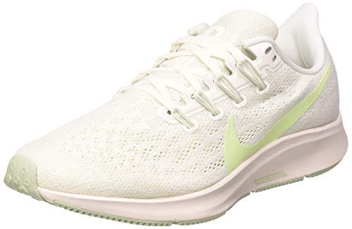 Nike Wmns Air Zoom Pegasus 36, Scarpe da Corsa Donna, Multicolore (Summit White/Vapor Green/Spruce Aura/Pistachio Frost), 36.5