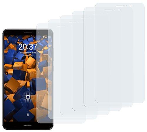 mumbi Schutzfolie kompatibel mit Huawei Mate 9 Folie klar, Bildschirmschutzfolie (6X)