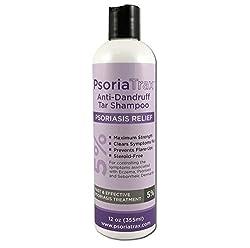 cheap Psoriatrax 5% psoriasis charcoal shampoo 12 oz.