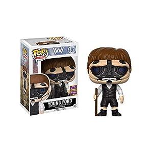 Funko Pop Dr. Ford Joven sin máscara (Westworld 462) Funko Pop Westworld