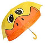 Idena 7860019  - Paraguas infantil dibujo de pato (diámetro: 94 cm)...