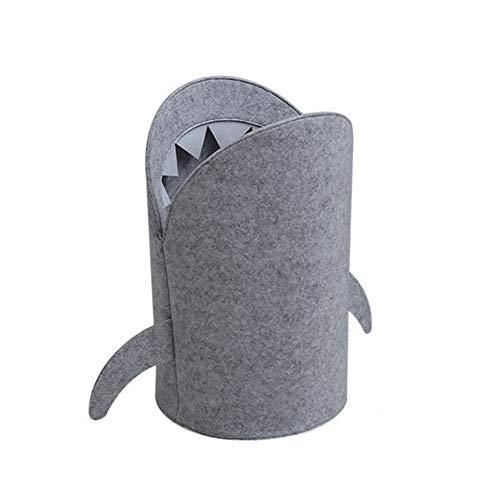 Queta Cesta Plegable para la Colada de tiburón, Cesta para la Colada para Ropa Sucia y artículos de Sol según Imagen S