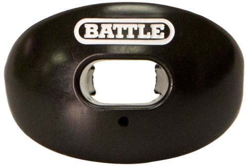 Battle Oxygen Lip Protector Mouthguard, Black