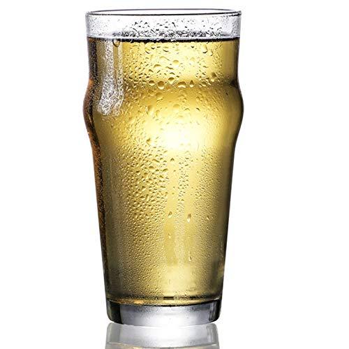 Vidrio de Pinta, Vidrio de Cerveza del Imperio de Estilo británico, Cristal de Cerveza de Estilo Pub inglés, diseño único,473