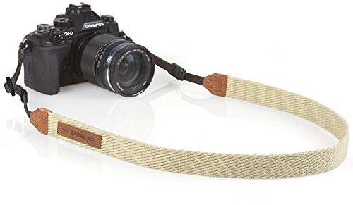 Kaiser Correa para cámara Digital de Fibra sintética 110cm Color Beige