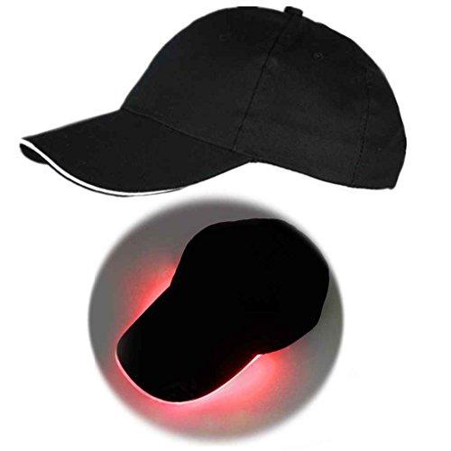 Bobury Casquette de Baseball légère de LED Glow at Night Club