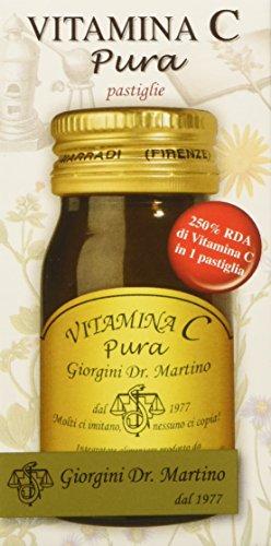 Dr. Giorgini Integratore Alimentare, Vitamina C Pura Pastiglie - 30 g