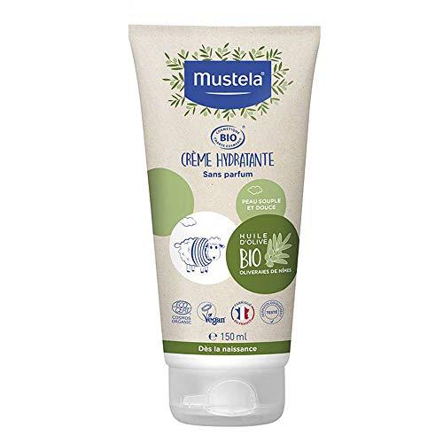 MUSTELA Crema hidratante Bio 150ml. Tubo, Negro