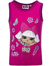 L.O.L. ¡Sorpresa! - Top camiseta sin mangas – Full Print – Niña – Producto original con licencia oficial 18_XXX