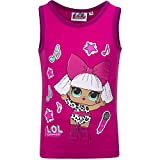 L.O.L. Surprise! - Top Camiseta sin mangas - Full Print - Para niña - Producto original con licencia oficial 18_XXX 057 Fucsia 3 Años