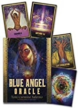 Giochi di festa di Halloween Séance tarocchi Blue Angel oracle Deck & Book by toni Carmine Salerno
