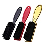 tellaLuna Cepillo de Limpieza de Cuchillas de 3 Piezas Barber Cleaning Clipper Brush Set Nylon Hair Styling Brush Tool