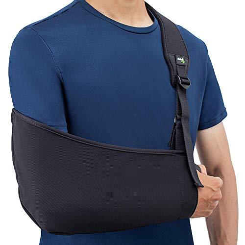 Think Ergo Arm Sling Air - Lightweight, Breathable, Ergonomically Designed Medical Sling for Broken & Fractured Bones - Adjustable Arm, Shoulder & Rotator Cuff Support