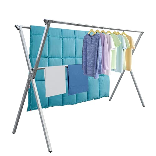 Upgrade II Drying Rack with Gravity Lock and Windproof Hooks