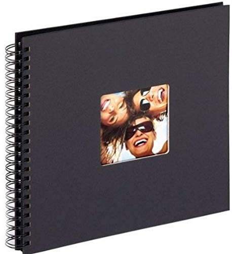 walther design SA-110-B Spiralalbum Fun, 30 x 30 cm, schwarz